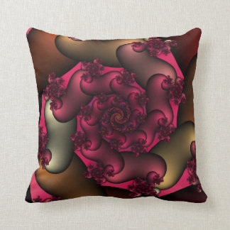 Color Of Love Fractals Throw Pillow