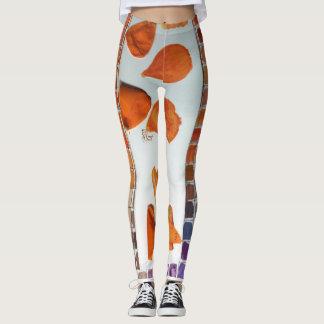 Color Palette Custom Leggings