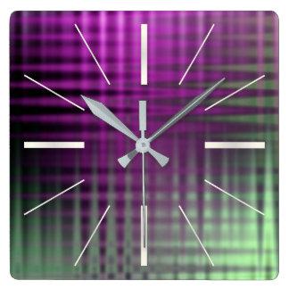 color pattern 1 clock