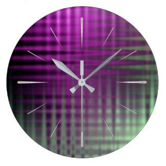color pattern 1 wall clocks