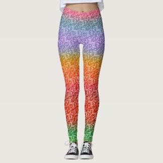 Color Pattern Leggings