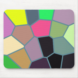 Color Pattern Mousepad