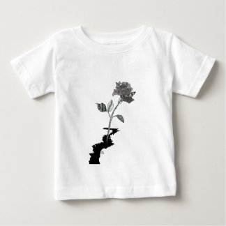 Color Pencil Detroit Rose Baby T-Shirt