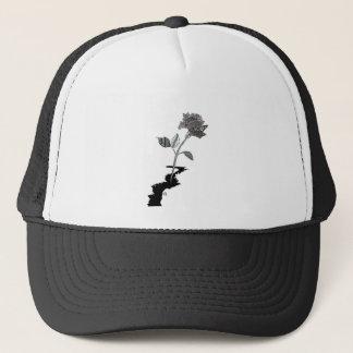 Color Pencil Detroit Rose Trucker Hat