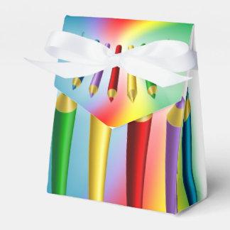 Color Pencils Favor Box