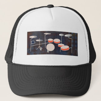 Color Percussion Trucker Hat