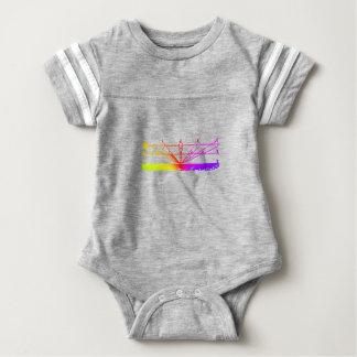 Color Perspective, Zetetic Astronomy by Parallax Baby Bodysuit