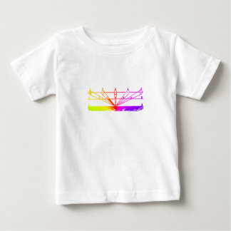 Color Perspective, Zetetic Astronomy by Parallax Baby T-Shirt