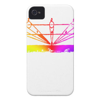 Color Perspective, Zetetic Astronomy by Parallax iPhone 4 Cover