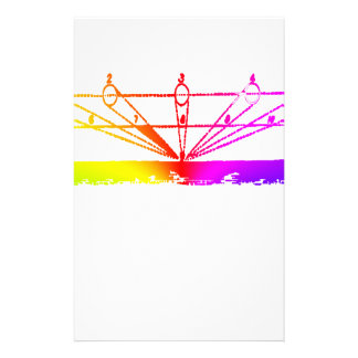 Color Perspective, Zetetic Astronomy by Parallax Stationery