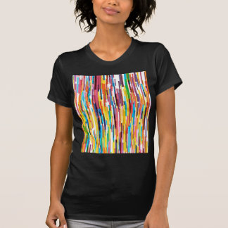 Color Pikes Pattern T-Shirt