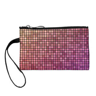Color pixel design change purses