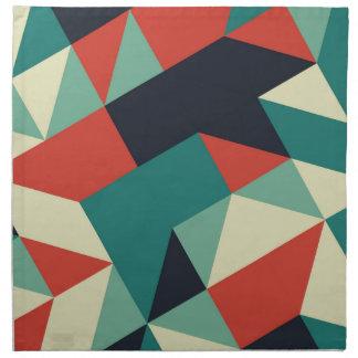 Color Polygons Napkin