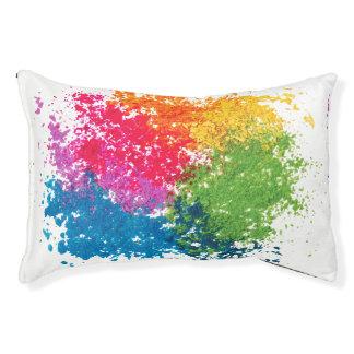 Color Powder Rainbow Pet Bed