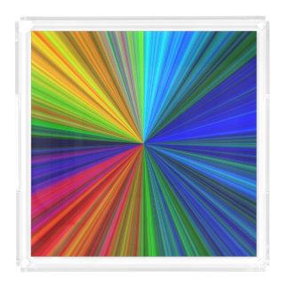 Color Prism Acrylic Tray