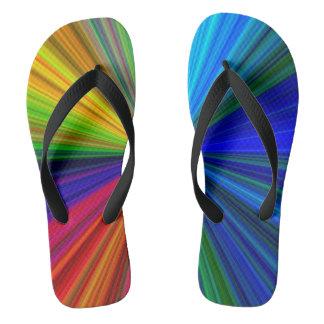 Color Prism Flip Flops
