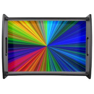 Color Prism Serving Tray