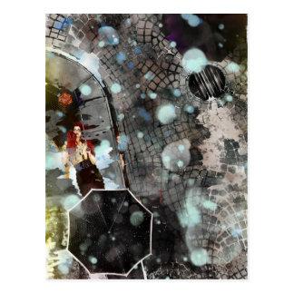 Color Rain Postcard