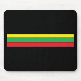 color rasta mouse pad
