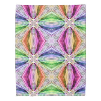 Color Rays Duvet Cover