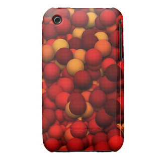 Color Red iPhone 3 Cases