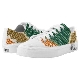 color retro shoes