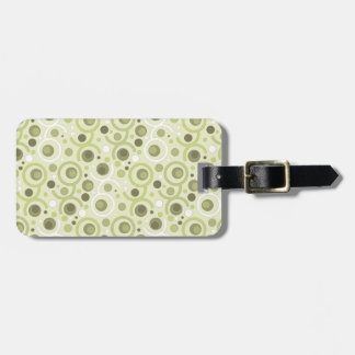 COLOR ROUND PATTERN FOR GIFT I LUGGAGE TAG