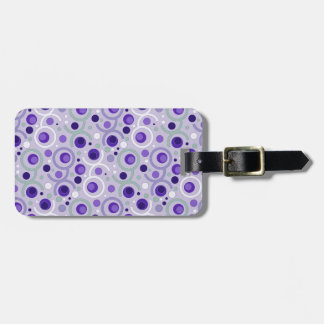 COLOR ROUND PATTERN GIFT II FITS LUGGAGE TAG