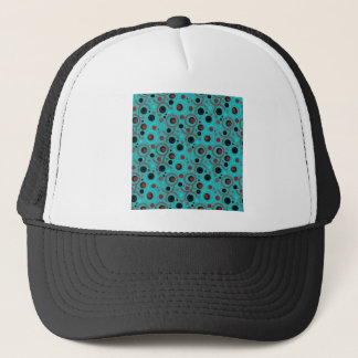 COLOR ROUND PATTERN GIFT IV A50 TRUCKER HAT