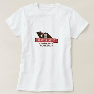 Color SACW Logo, Light Background T-Shirt