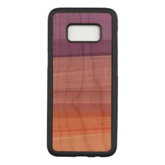 Color Samsung Galaxy S8 Slim Cherry Wood Case