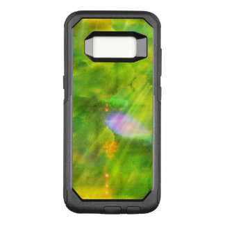 color seamless background green, yellow OtterBox commuter samsung galaxy s8 case