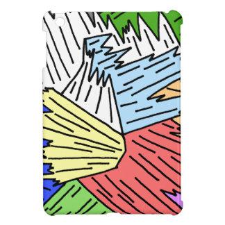 Color Shards iPad Mini Covers