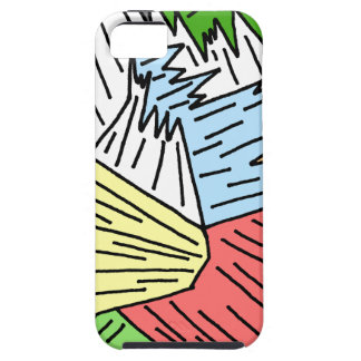 Color Shards iPhone 5 Cover
