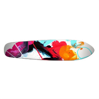COLOR SK SKATEBOARD DECK