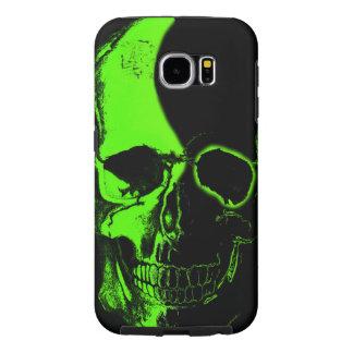 Color skull Layer Samsung Galaxy S6 Cases