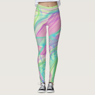 Color smoke leggings