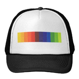 color spectrum trucker hat