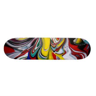 Color Spill Skateboard Deck