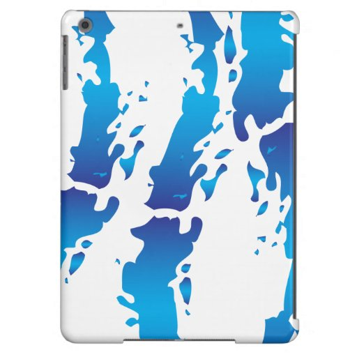 Color Splash Abstract Design iPad Air Case