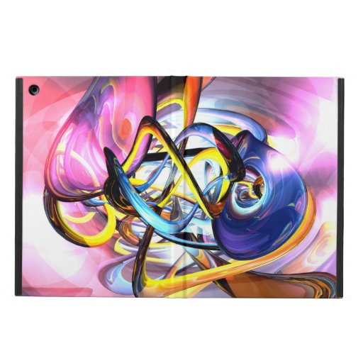 Color Splash Abstract iPad Air Covers