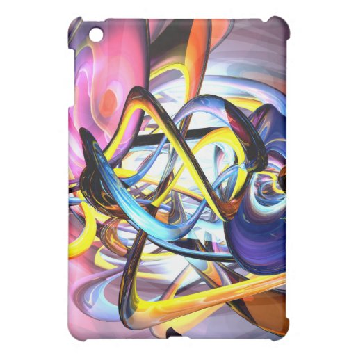 Color Splash Abstract iPad Mini Covers