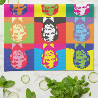 Color Splash Donald Trump Kitchen Towel