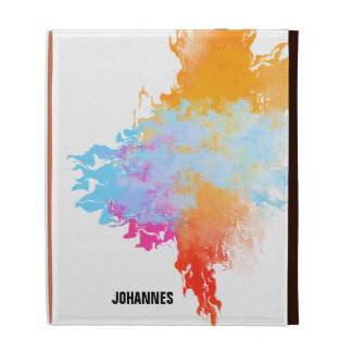 Color Splash Flame iPad Folio iPad Folio Covers