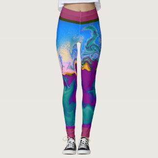 Color Splash Galore Leggings