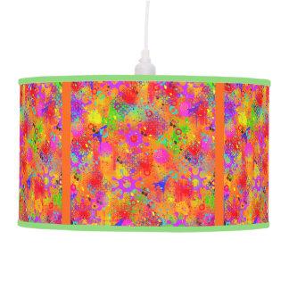 Color Splash Graffiti Ceiling Lamp