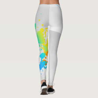Color Splash Leggins Leggings