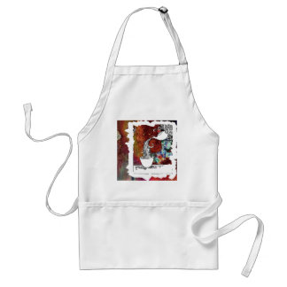 Color Splash Tea! Pour me a Magical Cup of Tea! Standard Apron