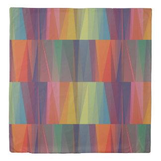 Color Split Pattern Duvet