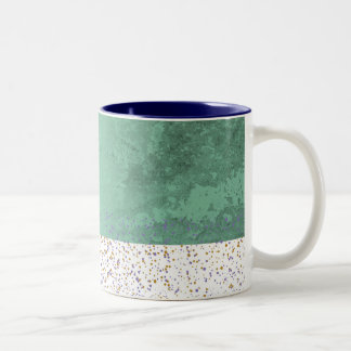 Color spots Two-Tone coffee mug